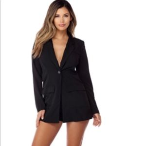 Black Romper Brand New With Tags